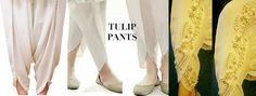 Latest Tulip Pants Trends 2016-17 Designs & Cutting Tutorial