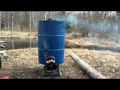 This video shows the build of a hot water,food,charcoal producing rocket stove.This is made from an old water heater tank in 400