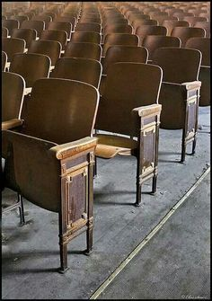 Remember the hard seats the movie theater use to have?