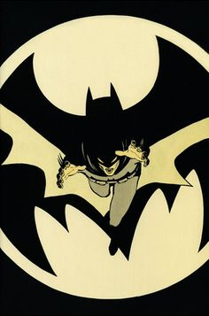 Here is an OG Batman image.  Very cool perspective and design work.