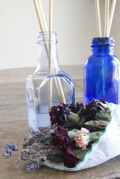 Make your own scented oil diffusers