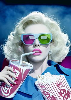 by Miles Aldridge                                                                                                                                                      Mais