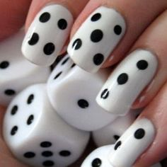 Dice Nails... love!!