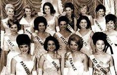 Miss Venezuela 1964 - Mercedes Revenga En el Miss Universo clasificó entre las 15 semi finalistas...