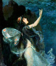 Metamorphosis of Beauty, Paul Swan 1907