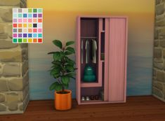 Sims 4 CC's - The Best: RC City Living Dresser by ChiLlis Sims