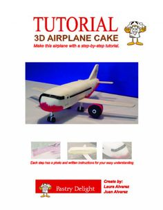 Great tutorial, lots of photos and instructions. Make a realistic cake plane