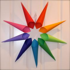 Nine-Pointed Star Unity Wreath Craft | Motherhood and More