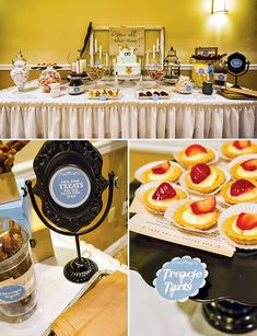 GREAT HP themed dessert table