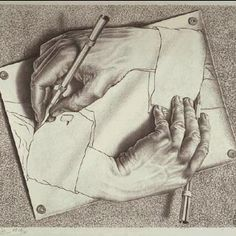 Hands by MC Esher