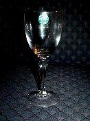 Lenox Decor Plain Red Wine Glasses