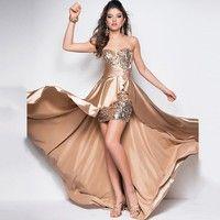 Wish   Royal Blue Evening Dress  Short Front Long Back Elegant Evening Gowns Formal Dresses Plus Size