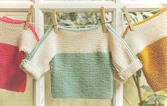 Ravelry: French Macaroon pattern by The Noble Thread The French Macaroon Baby Sweater Free Knitting Pattern works up really fast in two flat parts with easy garter stitch.