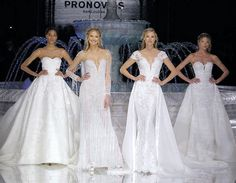 How gorgeous is the 2018 @Pronovias collection?  http://gelinshop.com/ipost/1517673844998876691/?code=BUP3FIwDy4T