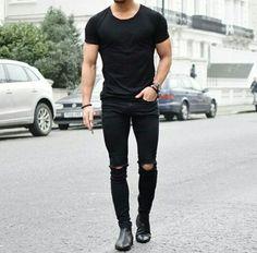 Black & black again