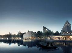 "COBE and Lundén Architecture Envision Transformation of Helsinki's Töölönlahti Bay into ""Citizens' Park"",© COBE and Lundén Architecture"
