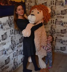 Hello :) I am Anna, and this is my great helper:) We like to dance with our lion 🦁 Practically this is handmade rug, but he loves to play as well :) Please visit our store Modern Nursery Decor, Nursery Room Decor, Nursery Ideas, Baby Shower Gifts, Baby Gifts, Personal Safe, Beautiful Lion, Jungle Nursery, Handmade Toys
