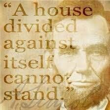 Civil War Quotes, Great Quotes, Inspirational Quotes, Motivational Quotes, Abraham Lincoln Quotes, Police, History Quotes, History Facts, House Divided