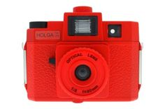 Holga CFN 120 Red