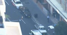Two people have been shot outside the police headquarters in Parramatta, Sydney, on Friday afternoon.