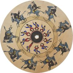 "dickbalzer: "" Phenakistoscope Disk - France - c.1835 """