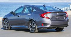Honda Civic Rear Gray