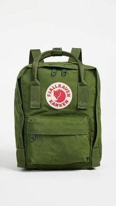 5a949ff6d Fjallraven Kanken Mini Backpack Kanken Backpack Mini, Backpack Bags, Green  Backpacks, School Backpacks