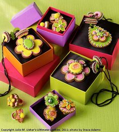 Badda Bling! by Julia M Usher, via Flickr.  Now this is jewelry every woman needs--edible jewelry!