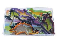 Dinosaur Set of COOKIE CUTTER 6 Dinosaurs by KitchenCrafts on Etsy, $12.50