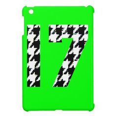Houndstooth Seventeen Cover For The iPad Mini