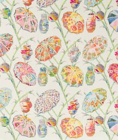 Rainbow Ethnic Drapery and Upholstery Fabric by Kravet Drapery Fabric, Linen Fabric, Oriental, Fabric Houses, Home Decor Fabric, Fabric Design, Printing On Fabric, Rainbow, Quilts