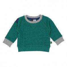 Molo / Derry Sweatshirt SS15 Grön sweatshirt för barn från Molo