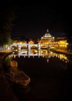Rome at Night, Italy. Please let me go back here one day with Derek.