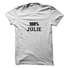 100% JULIEJULIE100% JULIE