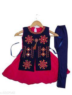 Kurta Sets Kids Girls Designer Frock& legging Kids Girls Designer Frock& legging Country of Origin: India Sizes Available: 2-3 Years, 3-4 Years, 4-5 Years, 5-6 Years, 6-12 Months, 9-12 Months, 12-18 Months, 18-24 Months, 0-1 Years, 1-2 Years   Catalog Rating: ★4 (737)  Catalog Name: Kid Attractive Clothing Sets CatalogID_1401528 C61-SC1140 Code: 872-8357042-997