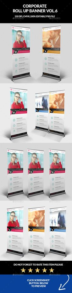 Fitness / GYM Roll-up Banner   Banner, Banner Template und Fitness