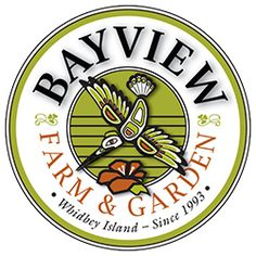 Bayview Farm & Garden is a beautiful 2½-acre full-service farm and garden center and café specializing in organic products & non-toxic solutions and featuring a stunning selection of garden and nursery plants and trees as well as the famous Laburnum Arbor
