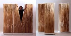diy room deviders | STICK SCREEN ROOM DIVIDER | Inhabitat - Sustainable Design Innovation ...