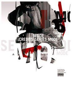 poster   More Credits Series Mode / Dedicate magazine & Benjamin Savignac