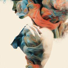 Alberto Seveso's Painterly Nudes.