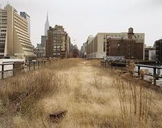 New York´s High Line turns into a green promenade