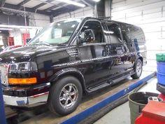 2013 GMC 2WD Low Top Explorer Luxury Conversion Van