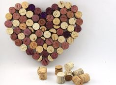 Cork Heart Sign by AddisonShaw, via Flickr
