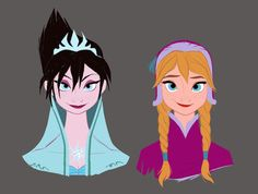 13 Pieces of Beautiful Frozen Concept Art | Oh My Disney