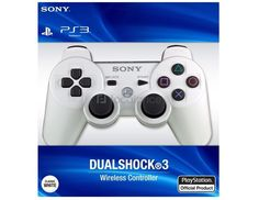NEW Official OEM Sony PS3 Wireless Dualshock 3 Controller WHITE New In Package #Sony