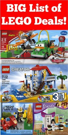 BIG List of LEGO Deals!