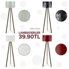 Deko Home ayaklı lambaderler sadece 39.90TL! #dekorazoncom >> http://www.dekorazon.com/deko-home-ayakli-lambader?utm_source=pinterest&utm_medium=post&utm_campaign=deko-home-ayakli-lambader