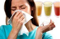 Sinusite et cure de désintoxication à base de jus