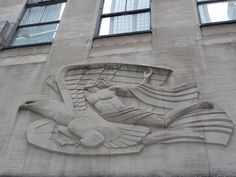Art Deco relief NYC by ambitious_outsider, via Flickr