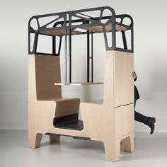 Il Treno by Tjep - Inspired in old train compartments, very well designed, not so useful though - but again is that a must?